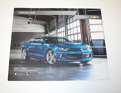 Original 2010 Chevrolet Camaro Sales Brochure 10 Chevy
