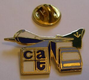 CAT-LOGISTICS-B747-BOEING-747-aviation-vintage-pin-badge