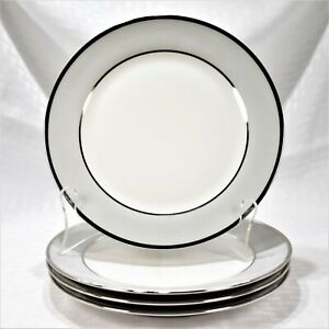 Set-of-4-Tirschenreuth-Dawn-Salad-Plates-Made-in-Bavaria-Germany