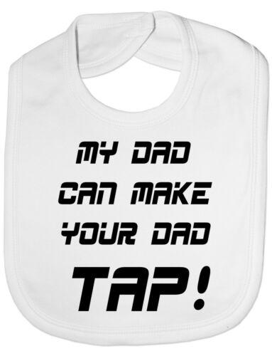 My Dad Machen Ihre Dad Tippen sie auf UFC//MMA Baby Fütter Lätzchen