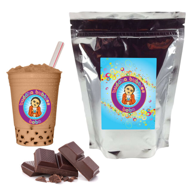 Mocha Boba/ Bubble Tea Powder by Buddha Bubbles Boba (1 Pound | 453 Grams)