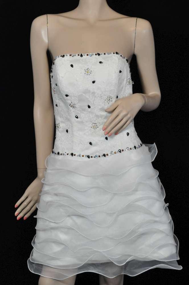 LIGHT in the box abito da sposa vestito da sposa tg 38 Ivory NUOVO