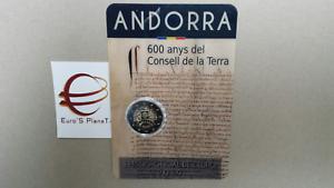 2-euro-2019-fdc-Andorra-Andorre-Consell-de-la-Terra