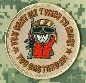 Oif Guerre Trophy Vintage' 90s Kenny Mccormick: You Envoyer Me Twice Pour Irak (
