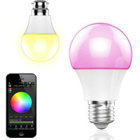 Wireless Bluetooth Control E27 4.5W RGB Smart LED Light Bulb Lamp Android IOS