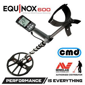 Minelab Equinox 600 Multi Frequency Metal Detector