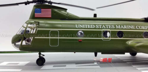 US CH-46F HMX-1 Sea Knight helicopter President transit 1//72 finished Easy model