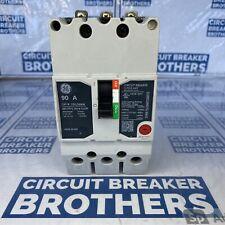 Ge Teyl3090b 90 Amp 480 Vac 3 Pole Circuit Breaker New Take Out Warranty