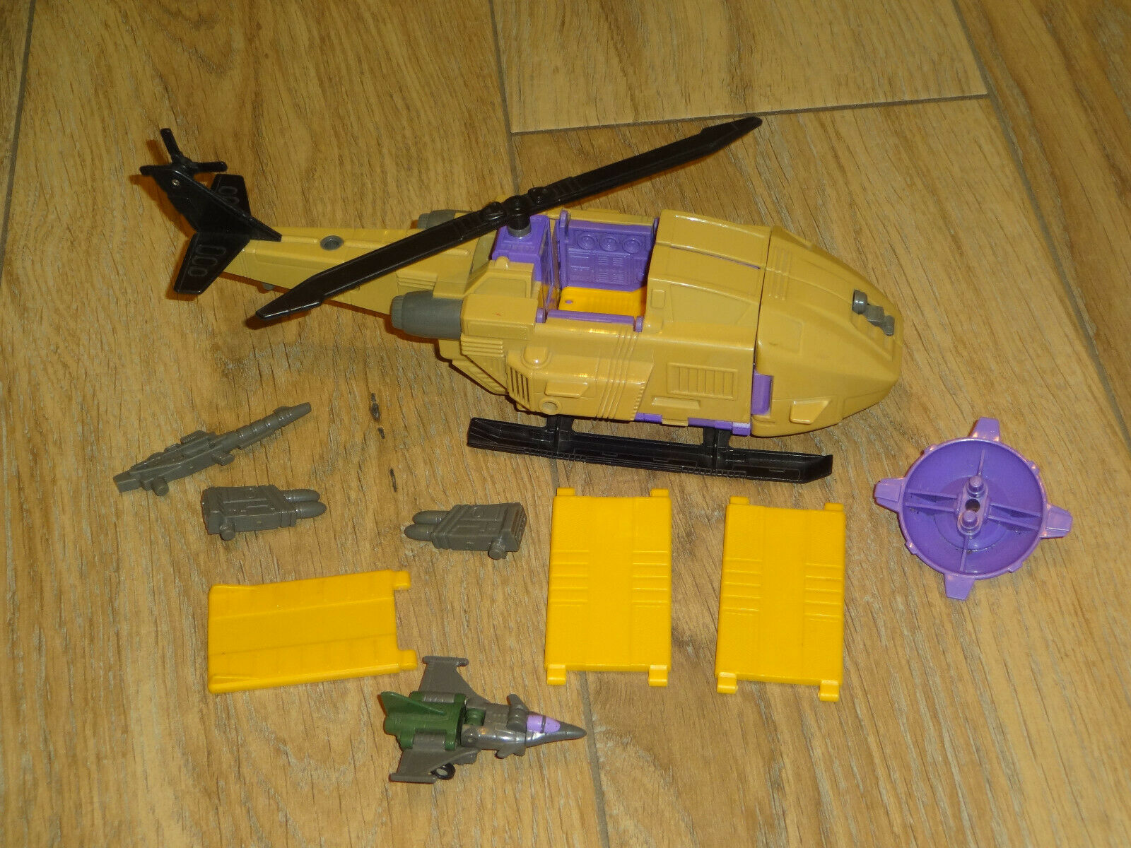 Transformers G1 MICROMASTER cieloHOPPER COMPLETO