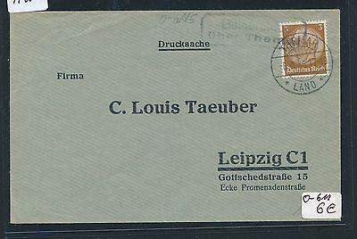 91200) DR > DDR Landpost Ra2 Beiner..? über Themar, DS 1936