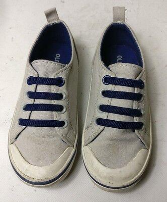 Old Navy Infante Niños Chicos Zapatillas Plimsolls Zapatos Talla Uk 14