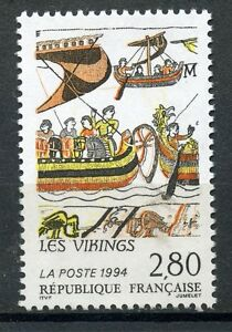 Stamp / Timbre France Neuf N° 2866 ** France Suede / Les Vikings Ture 100% Garantie
