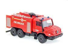 Majorette 297B Mercedes-Benz Zetros Fire Brigade International Truck 2015 1:87
