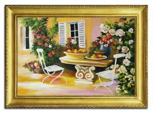 Oil-Painting-Pictures-Hand-Painted-with-Frame-Baroque-Art-G96471
