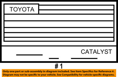 TOYOTA OEM 2015 Prius Labels-Emission Label 1129837320