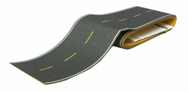 Vintage and Modern Walthers HO #949-1253 Flexible Self-Adhesive Paved Roadway