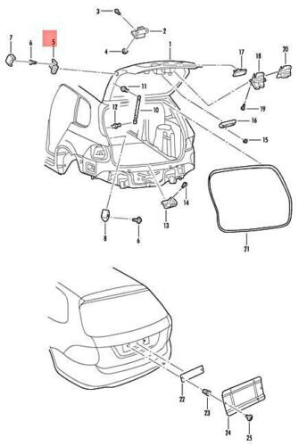 Genuine Stop Buffer Adjustable VW SKODA SEAT Beetle Bettle 3C9827499A9B9