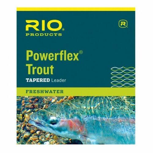 RIO Fly Fishing Brands Powerflex Knotless 5X Leaders Line