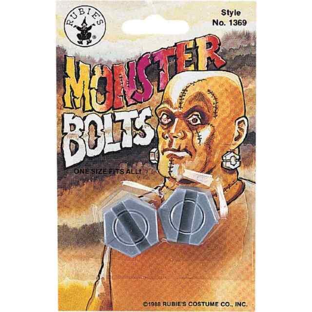 9bc2e84cca681 Monster Bolts Frankenstein Neck Head Fancy Dress Up Halloween Costume  Accessory