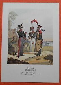 SystéMatique Infanterie Freye Ville De Hambourg Hanseatische Brigade Monten Pierre Pression 1978-afficher Le Titre D'origine