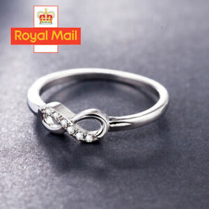 925-Sterling-Silver-CZ-Crystal-Eternity-Infinity-Rings