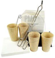 Microwave Gold Smelting Ore Concentrate Black Sands Kiln Assay Crucibles Flux