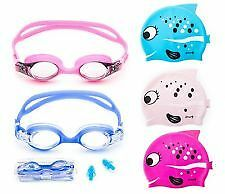 AR Best Quality Swimming Combo for Kids Swimming Cap, Goggle, Free Ear plug