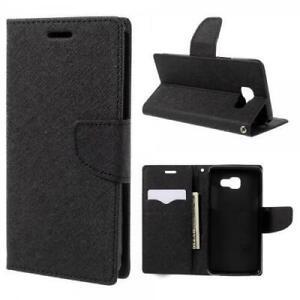 Fancy-Sac-Book-Housse-Flip-Case-Wallet-etui-Pour-Telephone-Portable-Housse-De-Protection-Noir-Black