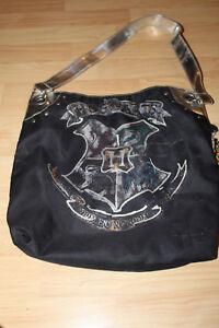 Hogwarts-Harry-Potter-Black-Tote-Purse-Draco-Dormiens-Nunquam-Titillandus