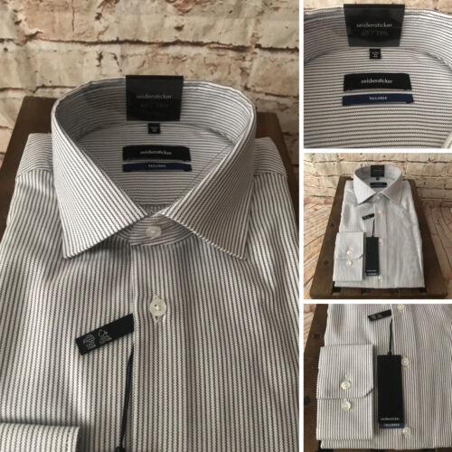 """Stripe Cotton Tailored Fit Medium,15 3//4/"""" BNWT Details about  /Seidensticker Formal Shirt"""