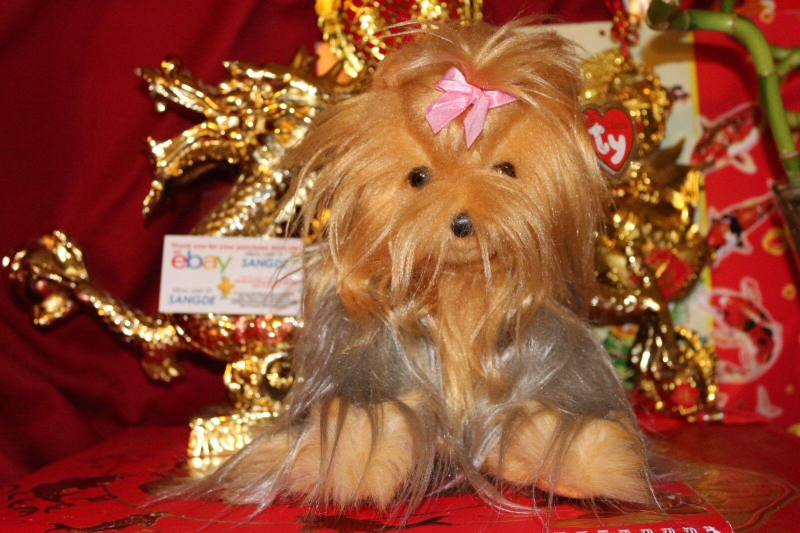 Das klassische mitsy braun & grau yorkie dog-11  - 2006 release-mwnmt-nice geschenk