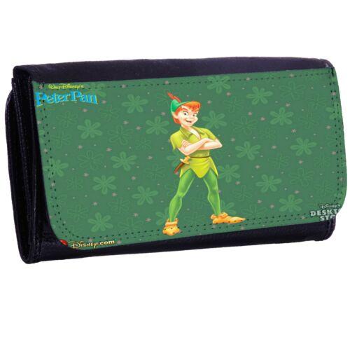 PETER PAN New Bi-fold Zipper Bill /& Card Holder Purse Long Wallet