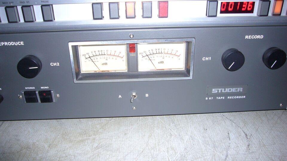 Spolebåndoptager, Studer, B-67
