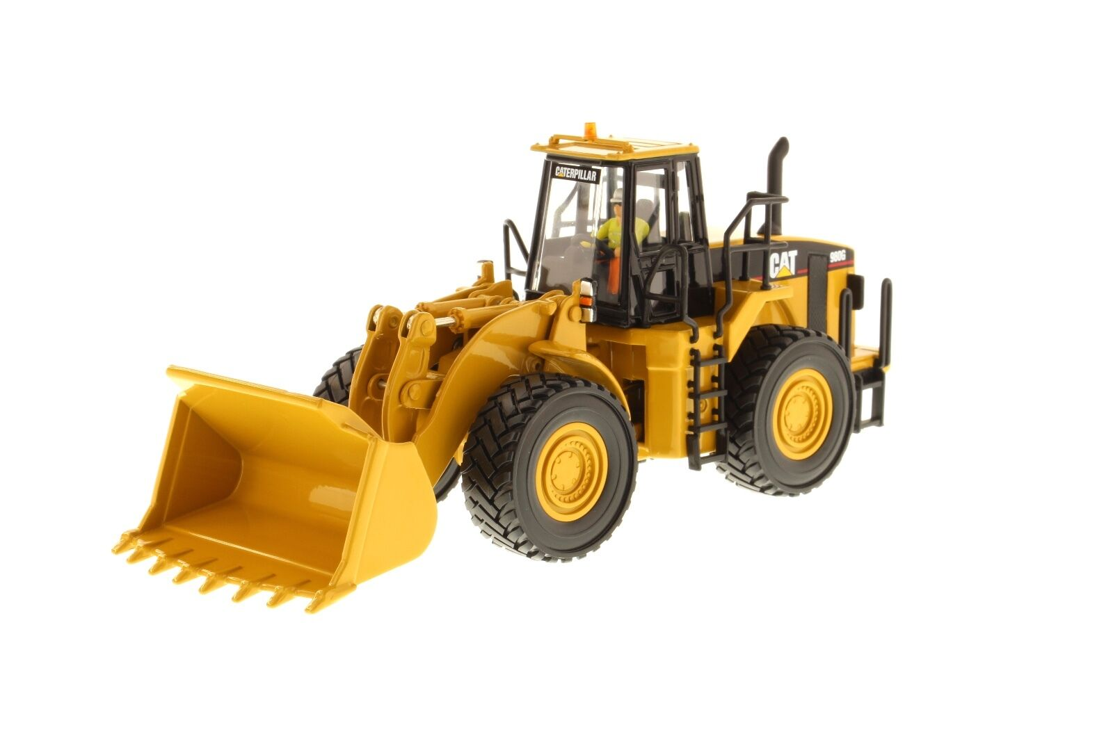 Caterpillar ® 1 50 Escala Cat 980G Rueda Cochegador-Diecast Masters 85027