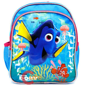 newest 63b0c 3a694 Details about Finding Dory School Backpack 10in Toddler Small Nemo Bag  -Pink Coral