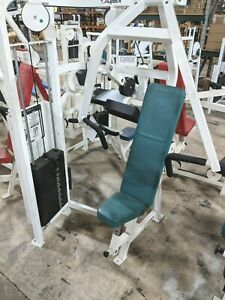 cybex vr2 chest press commercial weight stack gym exercise