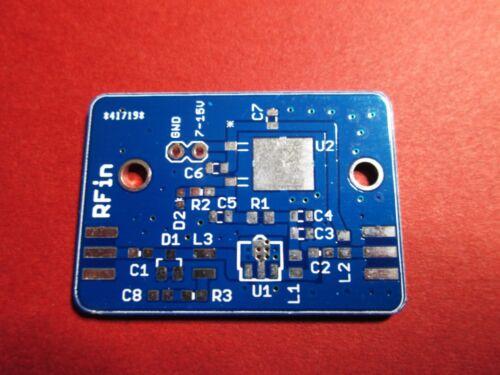 LNA PCB Kit w// PGA-103 part Design Low Frequency Stabilization Circuit PGA 103