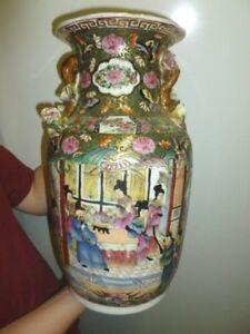 Superbe Vase Chinois Vase De Chine !