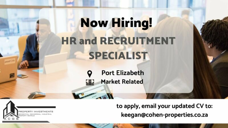 HR and RECRUITMENT SPECIALIST