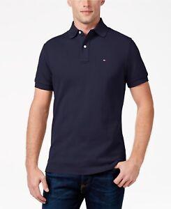 New-NWT-Mens-Tommy-Hilfiger-Polo-Shirt-Custom-Ivy-Fit-Small-Medium-Large-XL
