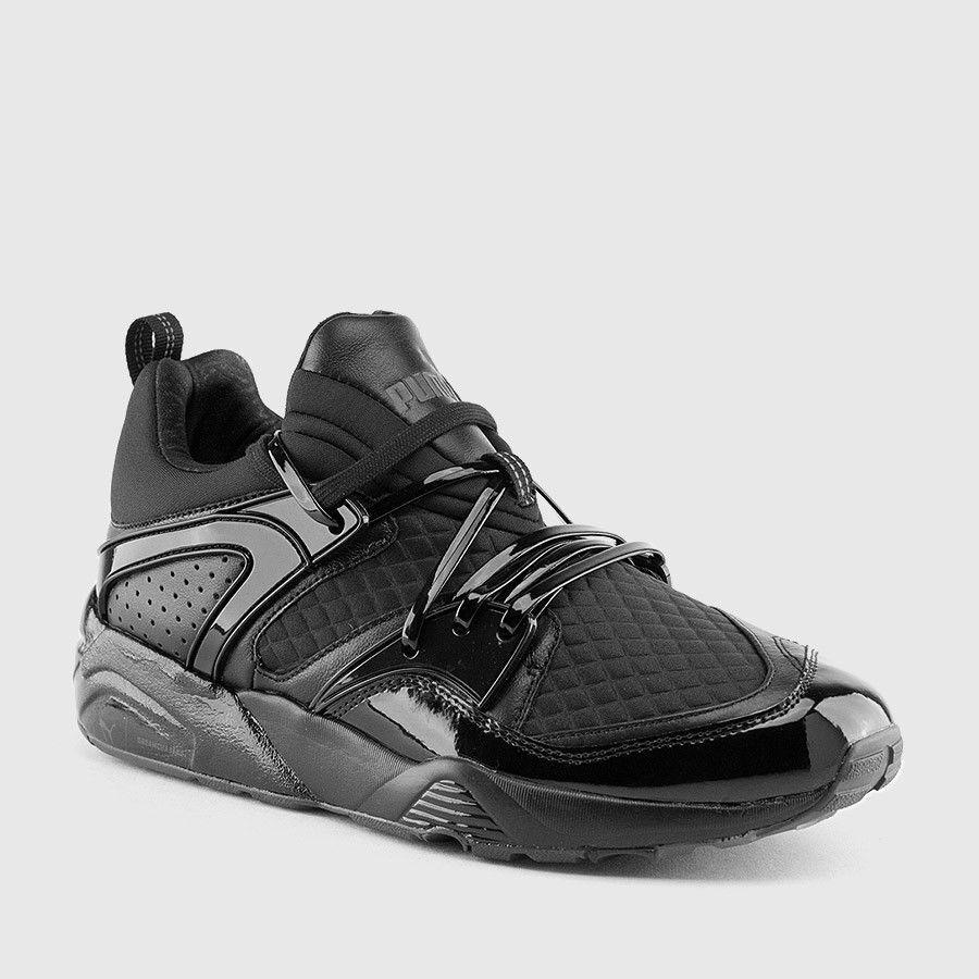 NEW Puma Blaze Of Glory X Meek Mill Bike Life Black Men's 9 362204-01 Sneaker