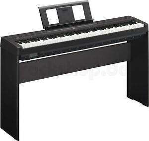Yamaha-P45-B-Digital-E-Piano-Klavier-mit-Zubehoer-und-original-L-85-Holzgestell