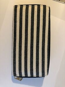 Black-amp-White-Striped-Wallet