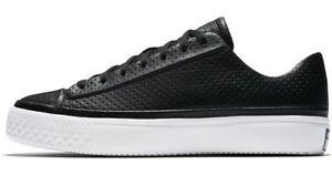 1f8203649c5f NIB  95 Converse CTAS Modern Ox Leather Black Black White 157573C US ...