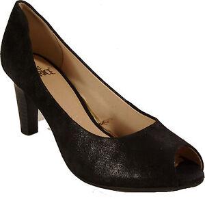 NEU laufen auf Luft CAPRICE Schuhe Pumps  schwarz echt Leder