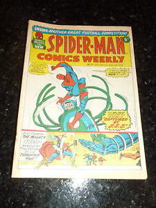 SPIDER-MAN-Comics-Weekly-No-19-Date-23-06-1973-UK-Paper-Comic