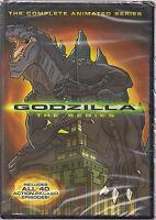 Godzilla Complete Animated Series (dvd, 2014, 4 Disc Set)