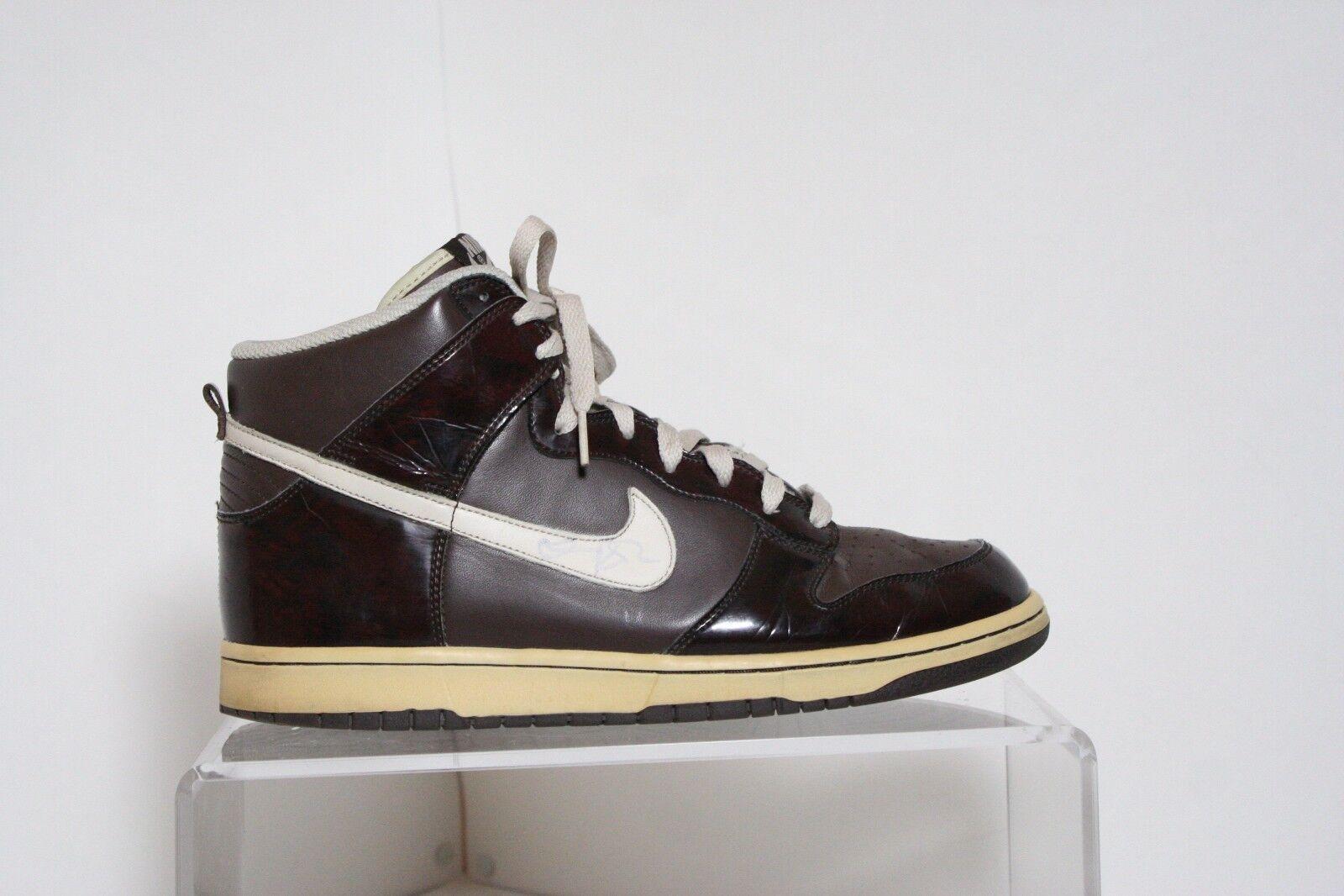 Nike Dunk High Premium 06' Sneakers Athletic Multi Woodgrain Hipster Men's 10