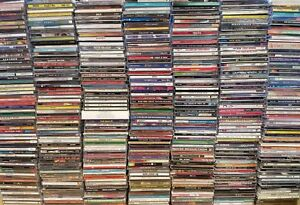 MASSIVE-Lot-of-200-CD-039-s-Mixed-Genres-ROCK-POP-COUNTRY-RAP-INDIE-Collection