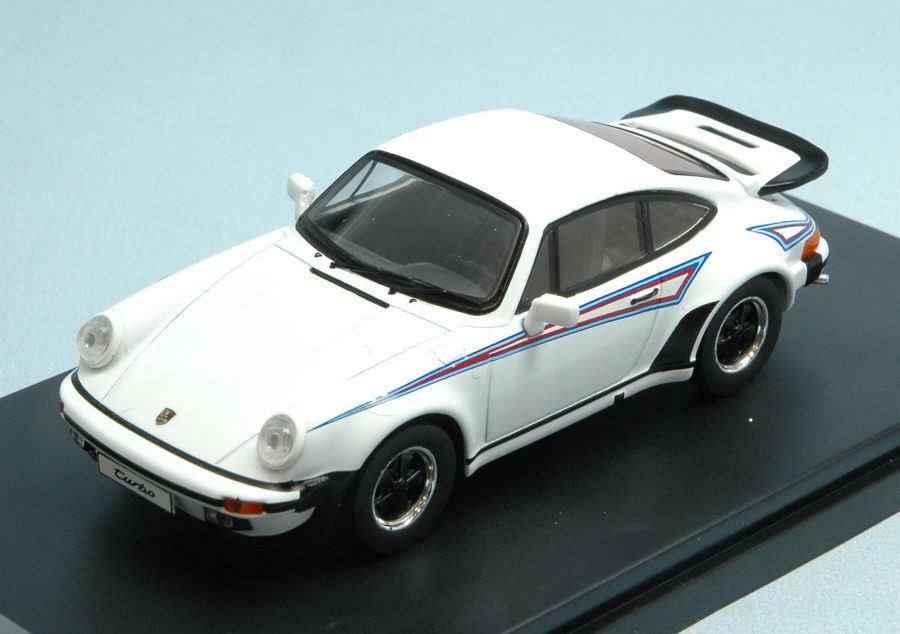 Porsche 911 Turbo Martini 1975 blanc 1 43 Model PREMIUMX